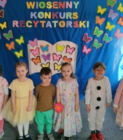 WIOSENNY KONKURS RECYTATORSKI